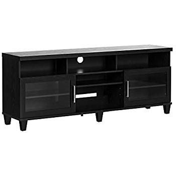 Raven Grey Tv Stands Intended For Popular Amazon: Sonax B 003 Rbt Bromley Tv Stand, Ravenwood Black (View 17 of 20)