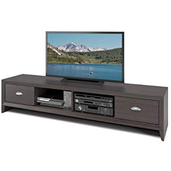 Raven Grey Tv Stands Regarding Best And Newest Amazon: Sonax B 003 Rbt Bromley Tv Stand, Ravenwood Black (View 19 of 20)