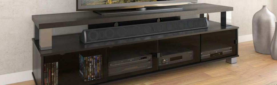 Raven Grey Tv Stands With Regard To Most Popular Sonax B 003 Rbt Bromley Tv Stand, Ravenwood Black (View 15 of 20)