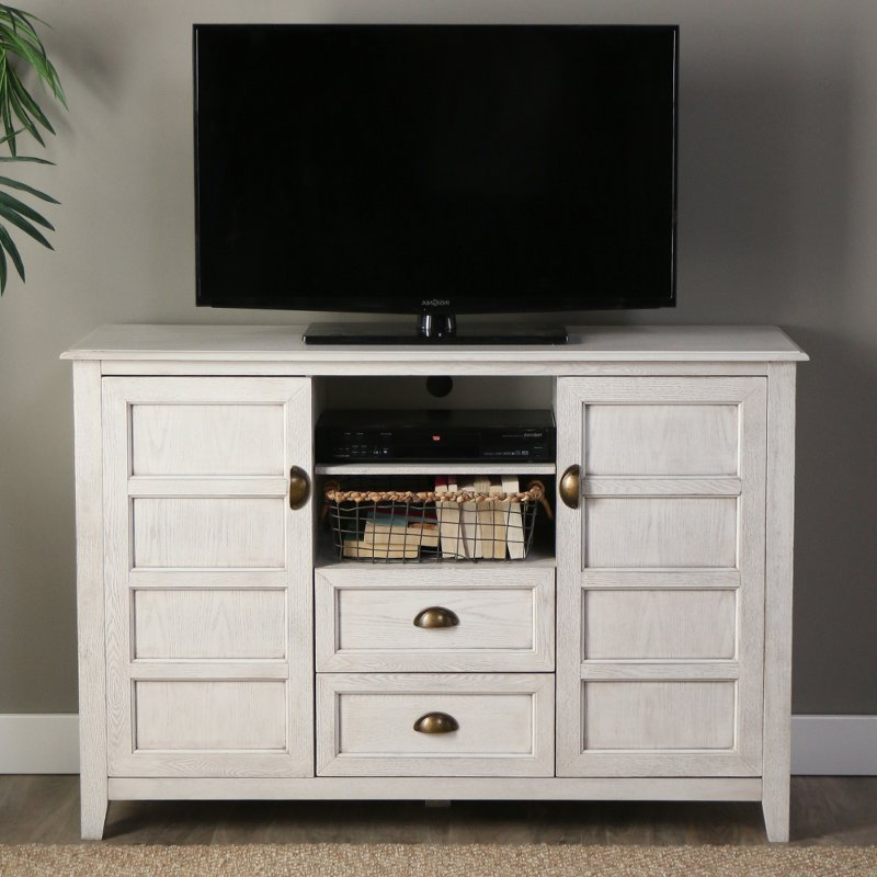 Rc Willey With Regard To Latest Rustic White Tv Stands (View 14 of 20)