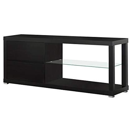 Recent Amazon: Monarch Specialties Cappuccino Hollow Core Tv Console For Jaxon 71 Inch Tv Stands (Gallery 12 of 17)