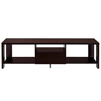 Recent Contemporary Wood Tv Stands Within Amazon: Tangkula Tv Stand Home Living Room Modern Wood (View 20 of 20)