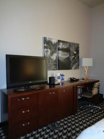 Recent Dresser, Desk, Television Stand. Contains A Mini Fridge And Intended For Denver Tv Stands (Gallery 14 of 20)