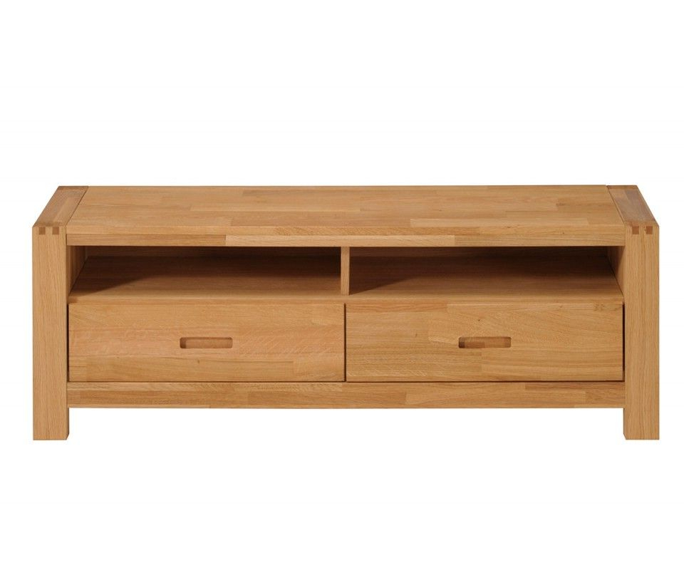 "Recent Ethan French Oak 65"" Tv Stand / Unit With 2 Drawers And Shelves For Tv Stands With Drawers And Shelves (View 9 of 20)"