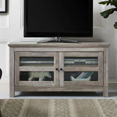 Recent Gray – Tv Stands – Living Room Furniture – The Home Depot Regarding Grey Wood Tv Stands (View 20 of 20)