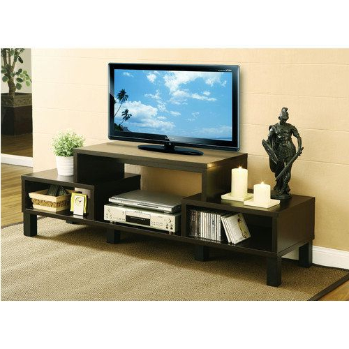 "Recent Hokku Tv Stands Throughout Hokku Designs Parke 60"" Tv Console Entertainment Cabinet, Wooden Tv (Gallery 6 of 20)"