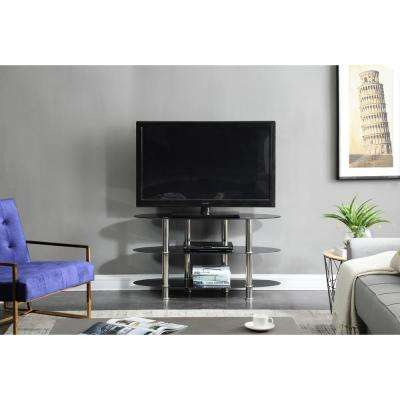 Recent Maddy 70 Inch Tv Stands With Regard To Glass – Tv Stands – Living Room Furniture – The Home Depot (View 20 of 20)