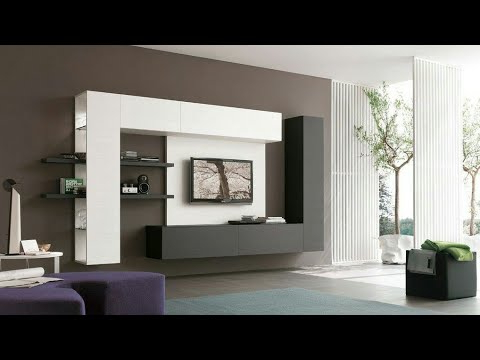 Recent Modern Tv Cabinet Design 2017 2018 – Youtube In Modern Tv Cabinets (Gallery 4 of 20)