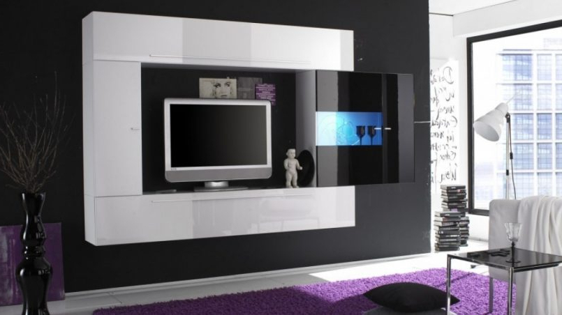 Recent Modern Tv Stands With Mount In Tv Stand With Mount For Best Living Furniture – Skhani (Gallery 6 of 20)