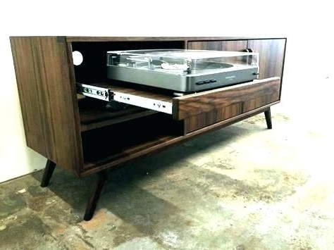 Recent Pull Out Turntable Shelf Types Essential Under Kitchen Cabinet Shelf With Turntable Tv Stands (Gallery 5 of 20)