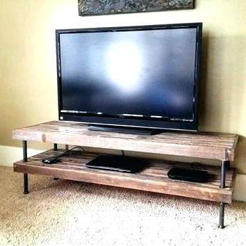 Recent Reclaimed Wood And Metal Tv Stands With Rustic Metal Tv Stand Modern Industrial Com Coffee Table Reclaimed (View 9 of 20)
