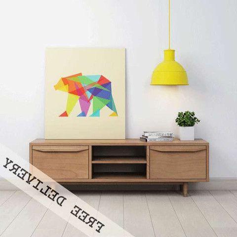 Recent Scandinavian Design Tv Cabinets With Entertainment Unit Tv Stand 2 Door Danish Scandinavian Solid Timber (View 20 of 20)