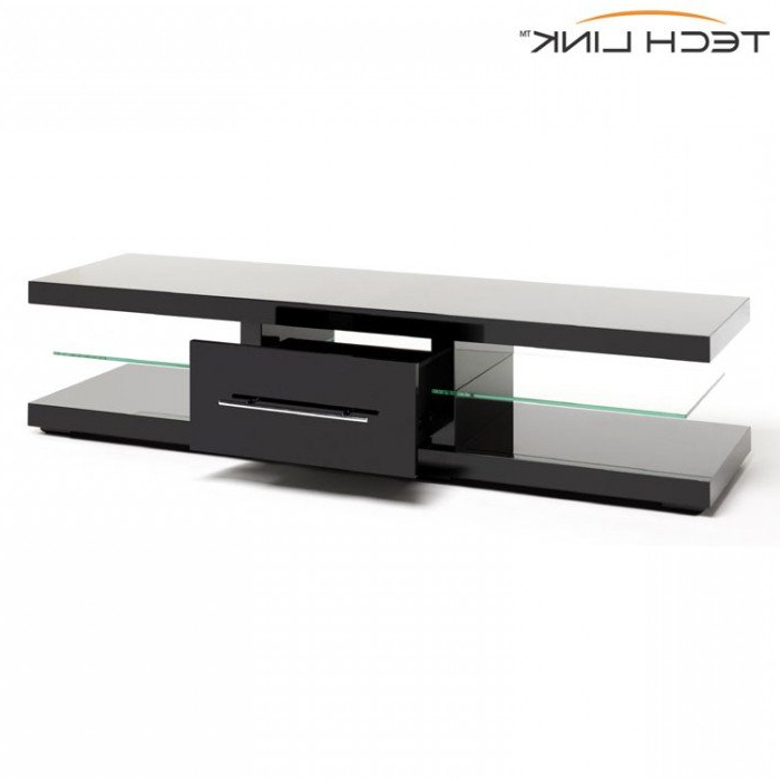 Recent Shiny Black Tv Stands Inside Techlink Ec150b Echo Xl Piano Gloss Black Tv Stand (405705) (Gallery 20 of 20)