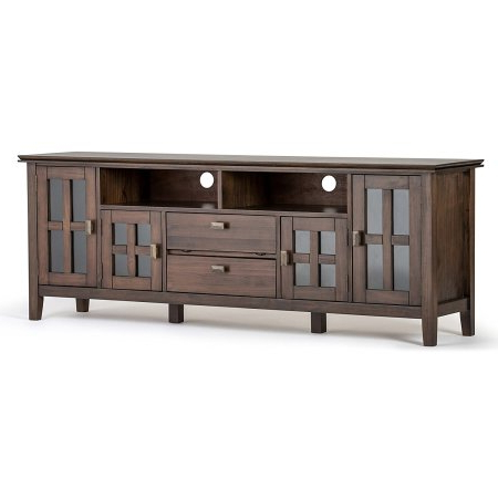 Recent Solid Wood Tv Stands: 6 Gorgeous Real Wood Large Tv Cabinets – Tv In Hard Wood Tv Stands (View 15 of 20)