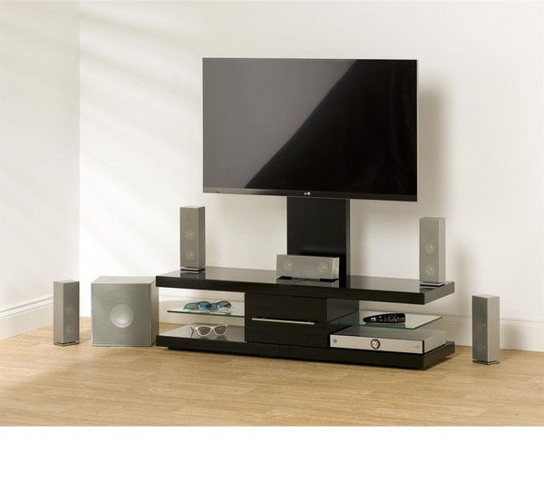 Recent Techlink Tv Stands Pertaining To Techlink Echo Ec130Tvb Tv Stands Decoration Ideas 600×532 Attachment (View 11 of 20)