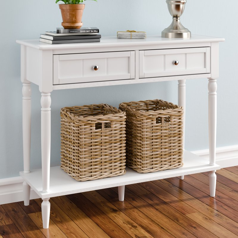 Recent Three Posts Axtell Console Table & Reviews (View 18 of 20)