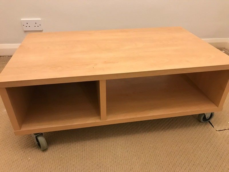 Recent Wooden Tv Stand On Wheels (View 13 of 20)