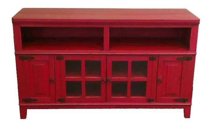 Featured Photo of Red Tv Cabinets