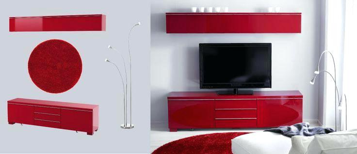 Red Tv Cabinet Chromium 2 Red Cabinet For Red Ikea Red Gloss Tv In 2018 Red Gloss Tv Cabinets (Gallery 13 of 20)