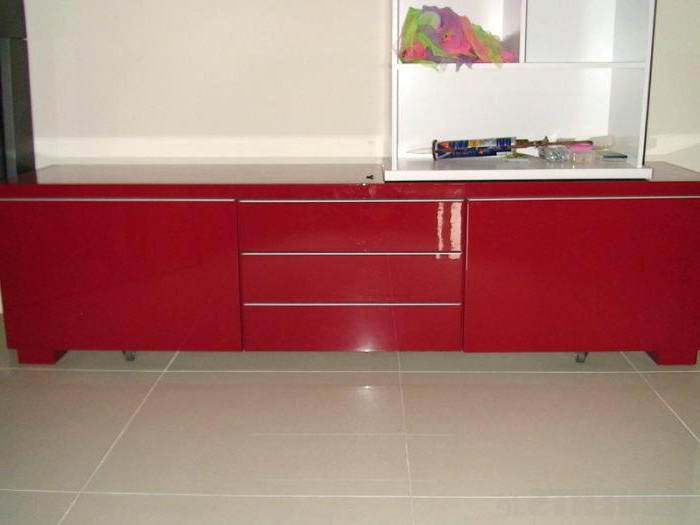 Red Tv Cabinet Chromium 2 Red Cabinet For Red Ikea Red Gloss Tv Inside Most Recently Released Red Gloss Tv Cabinets (Gallery 7 of 20)