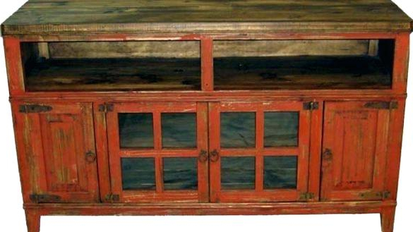 Red Tv Cabinets Inside Most Popular Antique Tv Cabinets With Doors Antique Cabinet Best Small Wooden (View 11 of 20)