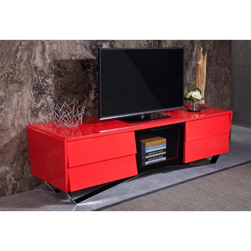 Red Tv Stands With Regard To Famous 20 Inspirations Red Tv Stands Cabinet And Stand Ideas Great Flawless (Gallery 11 of 20)