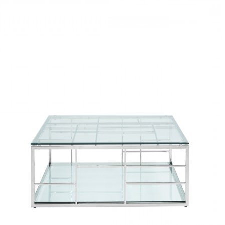 Remi Stainless Steel Square Coffee Table Within Most Current Remi Console Tables (Gallery 20 of 20)