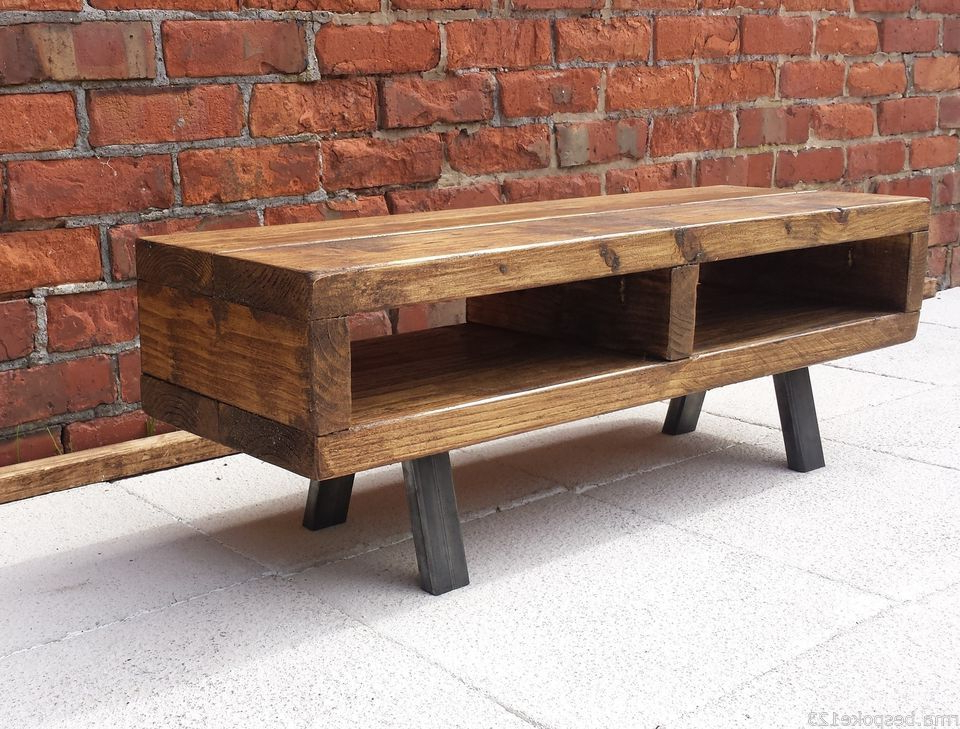 Rustic Coffee Table And Tv Stand Pertaining To 2017 Best Pallet Projects (View 15 of 20)