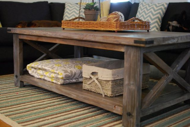 Rustic Coffee Table – Fmsuperestrella With Newest Rustic Coffee Table And Tv Stand (View 12 of 20)