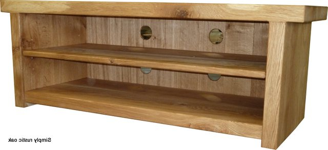 Rustic Oak Cottey Tv Stand – Simply Rustic Oak With Regard To Widely Used Rustic Oak Tv Stands (View 2 of 20)