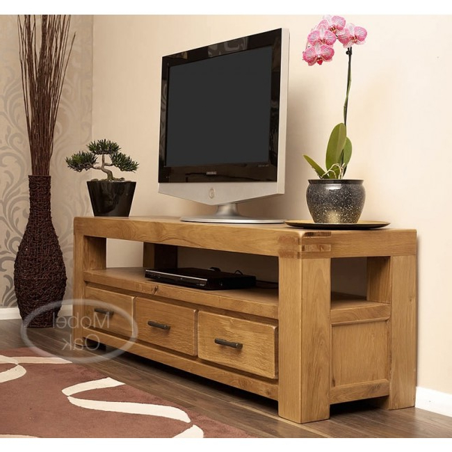 Rustic Oak Tv Cabinet (View 9 of 20)