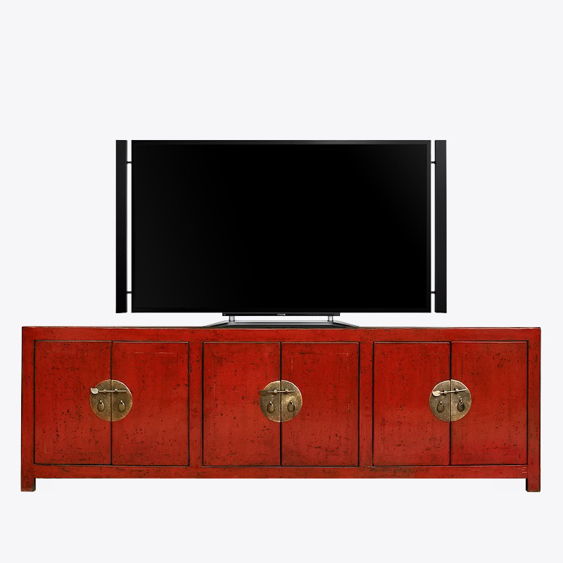 Sampan Tv Unit – Momu Pertaining To Most Popular Red Tv Units (View 5 of 20)