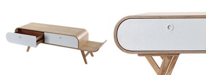 Scandinavian Design Tv Cabinets Inside 2018 Modern Tv Stands For Sale – Miliboo (View 7 of 20)