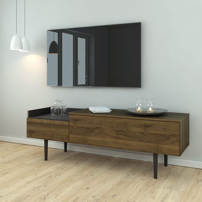 Scandinavian Style Sideboard / Tv Stand Uni 2D Inside Well Liked Scandinavian Tv Stands (View 12 of 20)