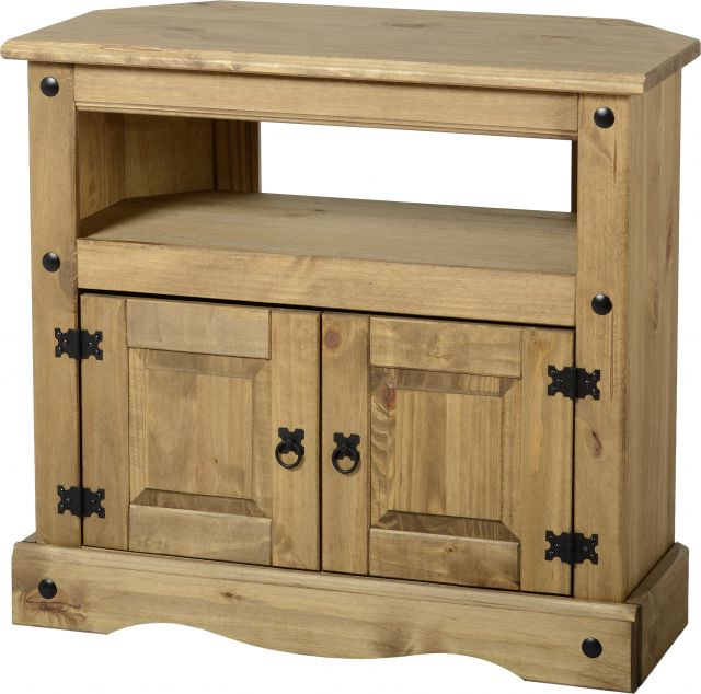 Seconique Corona Mexican Pine Tv Units – Tv Cabinets – Fit & Furnish Pertaining To Trendy Pine Tv Cabinets (View 19 of 20)