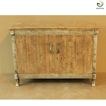 Shabby Chic Tv Cabinets Pertaining To Newest 2 Doors Natural Wood Shabby Chic Furniture Tv Cabinet Design – Buy (View 12 of 20)
