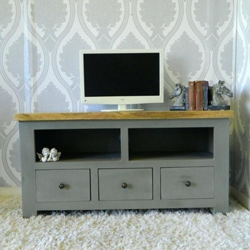 Shabby Chic Tv Cabinets Pertaining To Popular Oxford Range Television Cabinet Shabby Chic Tv Stand Canada Cabinets (View 13 of 20)