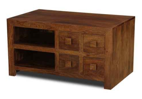 Sheesham Tv Stands Inside Widely Used Mango Wood Tv Units (View 11 of 20)