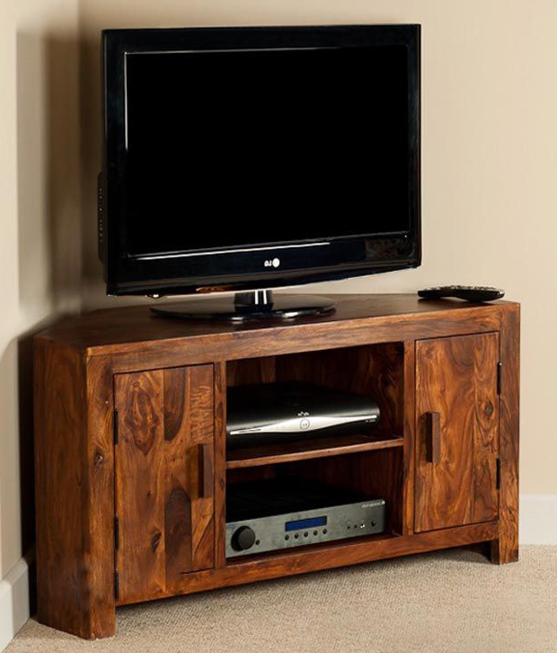 Sheesham Tv Stands With 2017 Lifeestyle – Handcrafted Sheesham Wood Tv Stand – Buy Lifeestyle (View 10 of 20)