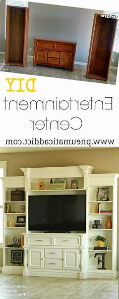 Shelves, Diy Ideas For Throughout Casey Grey 66 Inch Tv Stands (View 19 of 20)