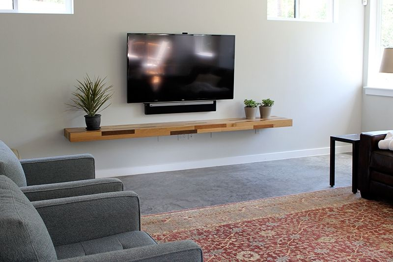Shelves For Tvs On The Wall With Regard To Favorite Reclaimed Shelf 6 … (View 17 of 20)