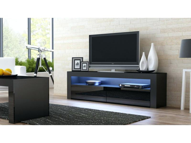 Shiny Black Tv Stands For 2018 Black High Gloss Tv Stand Image Of The Element High Gloss Black (View 11 of 20)
