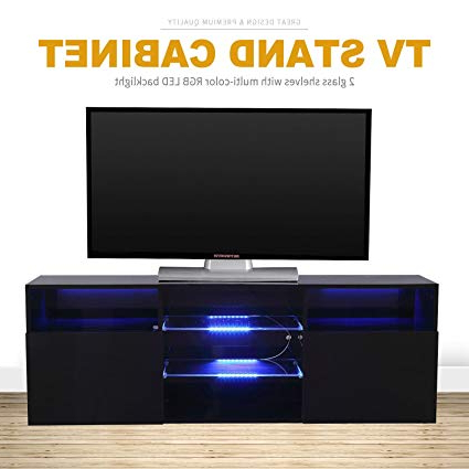 Shiny Black Tv Stands With Regard To Most Recently Released Amazon: Directsale Modern High Gloss Black Tv Stand Unit Cabinet (View 17 of 20)