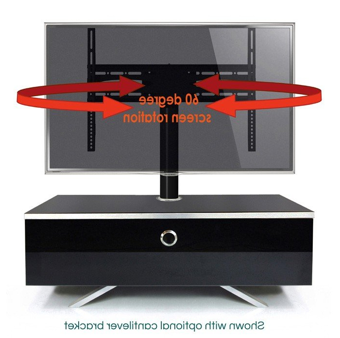 Shiny Black Tv Stands Within Current Black Tv Stands Uk – Tv Cabinets And Furniture (View 19 of 20)