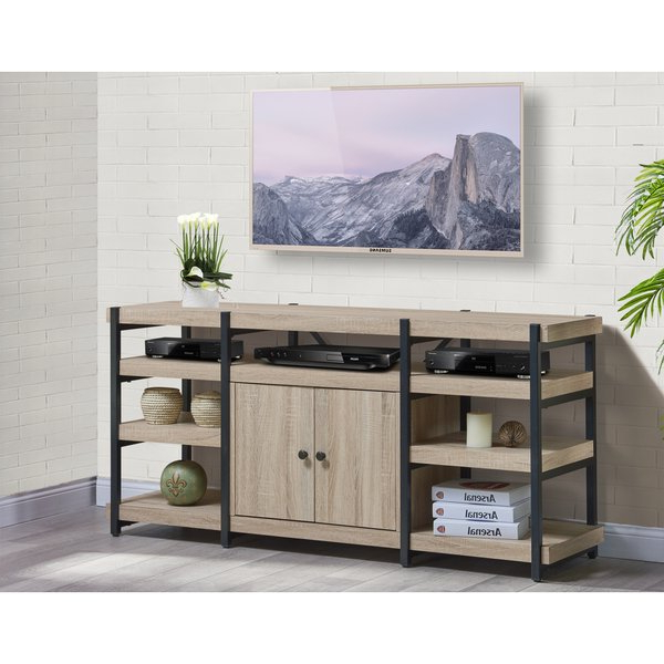 Shop Denver 61 Inch Tv Stand – Free Shipping Today – Overstock Intended For 2017 Denver Tv Stands (View 10 of 20)