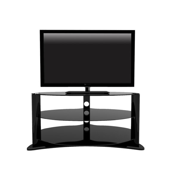 Shop Denver Oval 3 Tier Tv Stand Fits Tvs Up To 37 Inches – Free With Regard To Well Liked Denver Tv Stands (View 13 of 20)