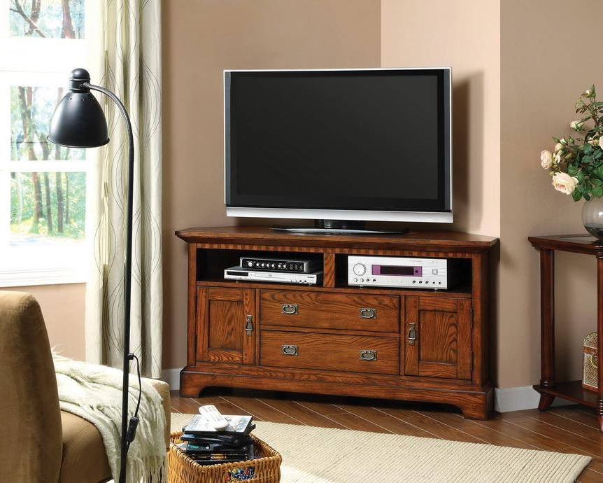Shop Furniture Of America Bettina Dark Oak Tv Cabinet – Free Within Favorite Dark Wood Tv Cabinets (View 17 of 20)