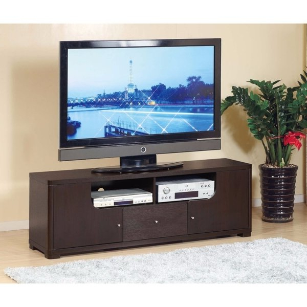 Shop Modern Style Tv Stand With 1 Drawer And 2 Open Shelves (View 17 of 20)
