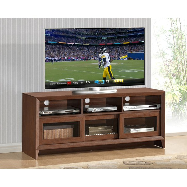 Shop Urban Designs Modern Tv Stand With Storage For Tvs Up To 60 For Most Current Modern Tv Stands For 60 Inch Tvs (View 15 of 20)