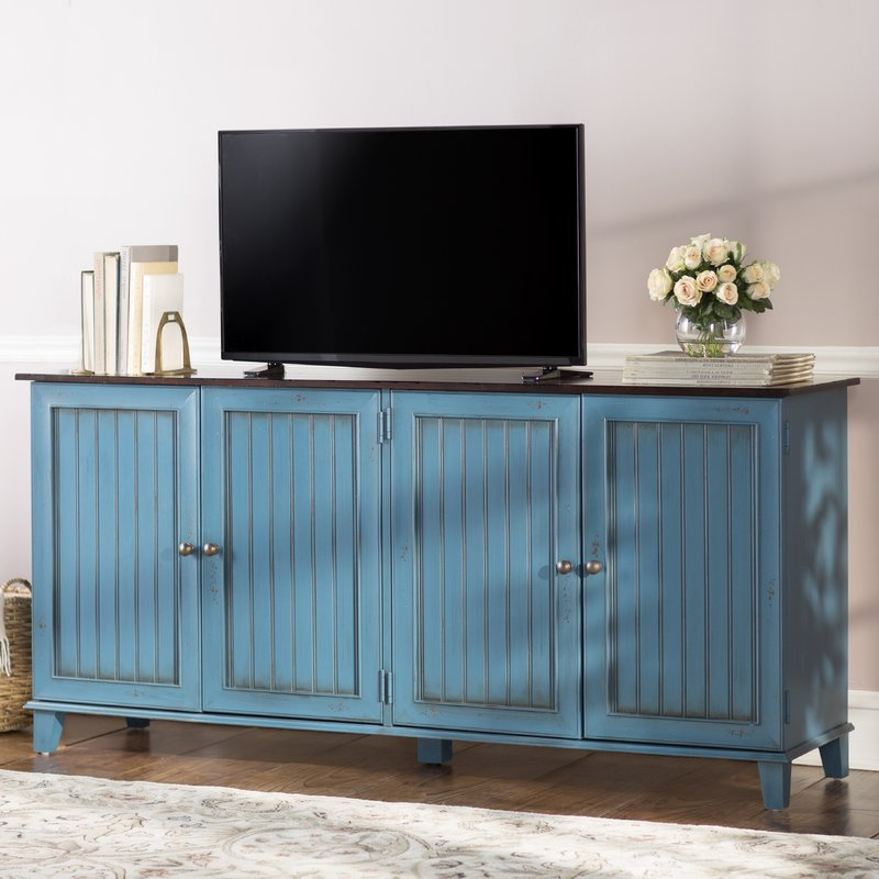 """Sideboard Tv Stands With Regard To Well Liked Breakwater Bay Jarosz Deluxe 72"""" Tv Stand Sideboard & Reviews (View 16 of 20)"""